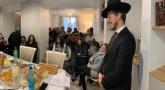110 personnes sont venus écouter le Rav Gobert à Paris