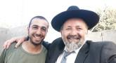 Le Rav Haddad poursuit son inlassable travail de terrain au service des 'Hayalim