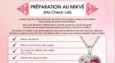 [Imprimer] Check-list des préparatifs au Mikvé (femmes)