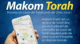 Makom Torah : trouvez un cours de Torah près de chez vous !