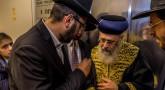 Rav Its'hak Yossef dans les bureaux Torah-Box