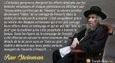 """Le message du Rav Steinman aux femmes qui en font """"tout un plat"""""""