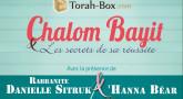 Soirée avec la Rabbanite Danielle Sitruk & 'Hanna Béhar à Jerusalem