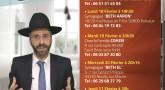 Cette semaine à Paris : conférences du Rav David Ichay !