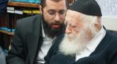 Visite de Rav 'Haim Kaniewski avec l'Admour de Ungvar