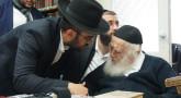 Visite Rav Kaniewski avec l'Admour de Ungvar - Binyamin Benhamou