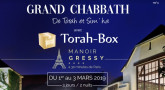 Week-End avec Torah-Box du 1er au 3 Mars à Paris