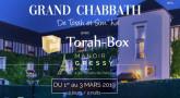 Du 1er au 3 Mars à Paris - Venez vous détendre avec Torah-Box
