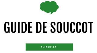 Guide pratique de Souccot