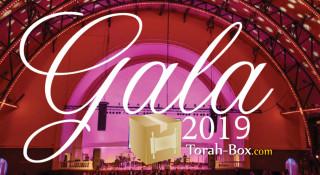 Torah-Box offre 1 place Vip au dîner de Gala 2019 + rencontre avec Rav Yigal Cohen