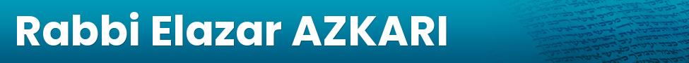 Rabbi Elazar AZKARI