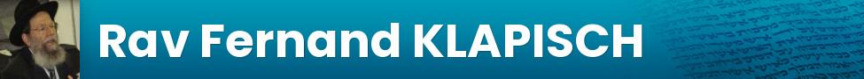Rav Fernand KLAPISCH