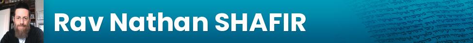 Rav Nathan SHAFIR