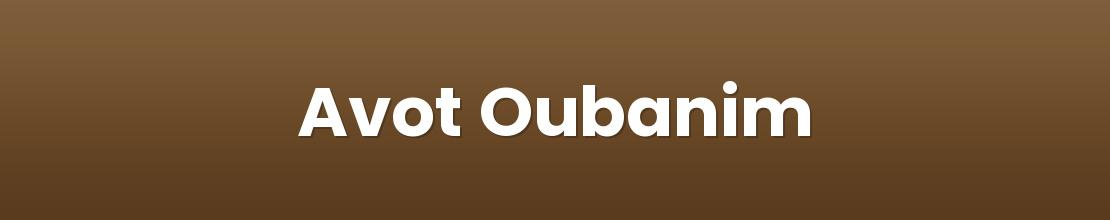 Avot Oubanim