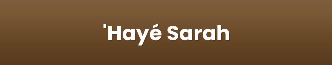 'Hayé Sarah