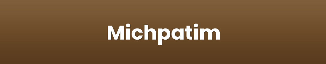 Michpatim