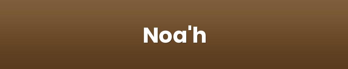Noa'h