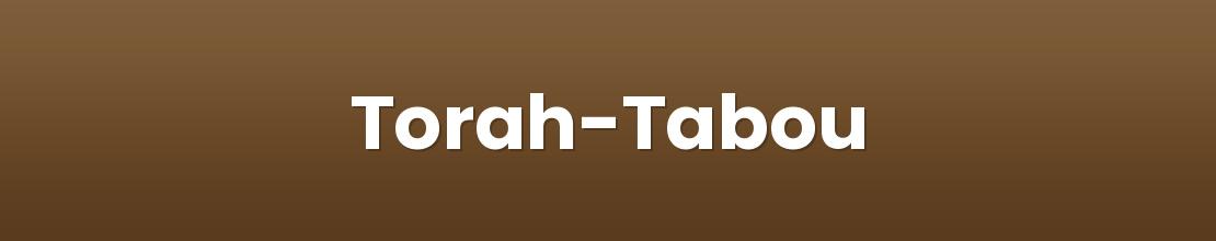 Torah-Tabou