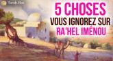 5 choses que vous ignorez sur Ra'hel Iménou