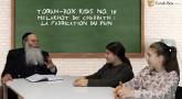 Torah-Box Kids n°18 : Melakhot de Chabbath : la fabrication du pain
