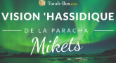 Vision 'Hassidique de la Paracha - Mikets