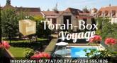 Réservez votre place pour 1 Week-End entier avec Torah-Box !