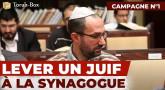 Lever un Juif de sa place à la synagogue