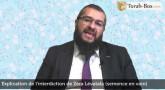 Explication de l'interdiction de Zéra Lévatala...