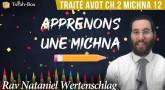 Apprenons une Michna pour les enfants - Traité Avot Chapitre 2 Michna 12