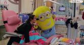 Vidéo - Nouvelle visite d'enfants malades, beaucoup de sourires !