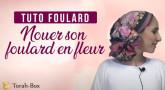 Tuto Foulard : Nouer son foulard en fleur