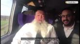 Rav Yigal Cohen dans le TGV en direction de Marseille