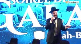 Rav Gabriel Dayan au Gala Torah-Box 2019